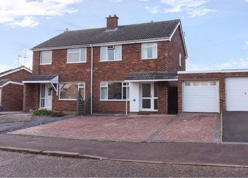 Thumbnail 3 bed semi-detached house for sale in Fairview Drive, Chatteris