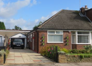 Thumbnail 3 bed semi-detached bungalow for sale in Heathfield Drive, Tyldesley, Manchester