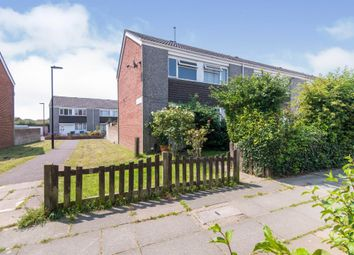 Thumbnail 2 bedroom end terrace house for sale in Hogarth Close, Southampton