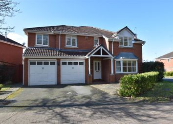 Thumbnail 5 bed detached house for sale in Rockingham Lane, Warndon, Worcester