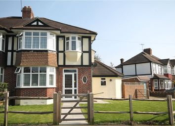 Thumbnail 3 bed semi-detached house for sale in Tattenham Grove, Epsom