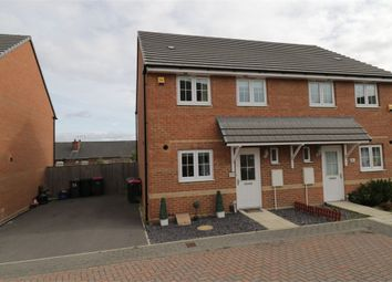 Thumbnail 3 bed semi-detached house for sale in Campbell Walk, Brinsworth, Rotherham, South Yorkshire