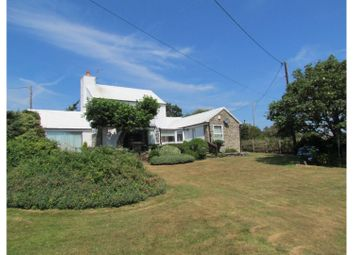 Thumbnail 3 bedroom detached house for sale in Rhoscolyn, Holyhead