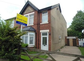 Thumbnail 5 bed semi-detached house for sale in Belvedere Road, Burton-On-Trent, Staffordshire