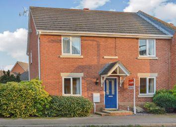 Thumbnail 3 bed semi-detached house for sale in Oriel Close, Wolverton, Milton Keynes