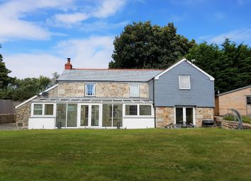 Thumbnail 4 bedroom detached house for sale in Gears Lane, Goldsithney, Penzance, Cornwall.