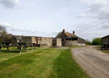 Thumbnail 4 bedroom farmhouse for sale in Lenham Road, Headcorn, Ashford