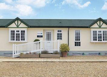 Thumbnail 2 bed mobile/park home for sale in Reculver Lane, Reculver, Herne Bay