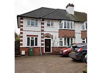 Thumbnail 4 bed semi-detached house for sale in Croydon Road, Westerham, Sevenoaks