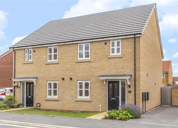 Thumbnail 3 bed semi-detached house for sale in Amos Drive, Pocklington, York