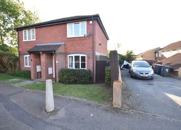 Thumbnail 2 bed semi-detached house for sale in Benington Close, Luton