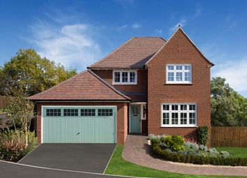 "Thumbnail 4 bed detached house for sale in ""Welwyn"" at Deer Park Lane, Bassaleg, Newport"