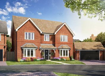 "Thumbnail 5 bed detached house for sale in ""The Solville"" at Littleworth Road, Benson, Wallingford"