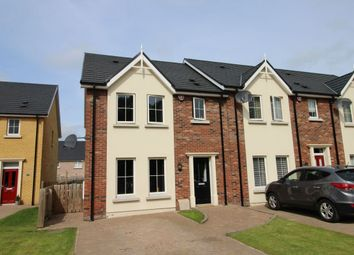 Thumbnail 3 bed terraced house for sale in Ayrshire Lodge, Lisburn