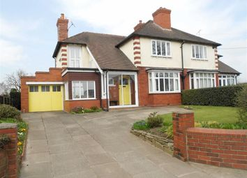 Thumbnail 3 bed semi-detached house for sale in Crewe Road, Haslington, Crewe