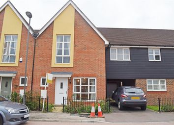 Thumbnail 3 bed terraced house for sale in Gwendoline Buck Drive, Aylesbury, Buckinghamshire