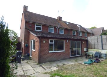 Thumbnail 3 bed semi-detached house to rent in Cromwell Road, Winchester