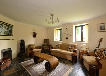 Thumbnail 3 bed barn conversion for sale in Newington, Folkestone, Kent
