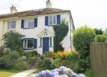 Thumbnail 4 bed semi-detached house for sale in Battery Park, Polruan, Fowey
