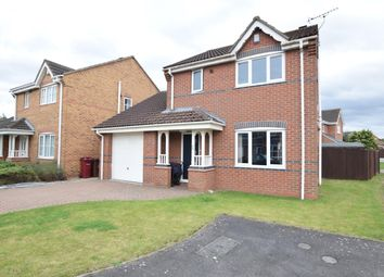 Thumbnail 3 bed detached house for sale in Sorrel Way, Scunthorpe