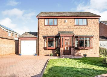 Thumbnail 4 bed detached house for sale in Sage Close, Newcastle Upon Tyne