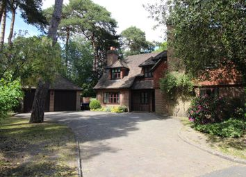 Thumbnail 5 bed detached house to rent in Oldfield Wood, Woking