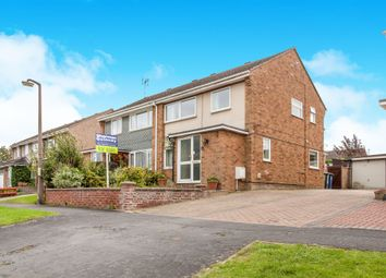 Thumbnail 3 bed semi-detached house for sale in Woodland Road, Sawston, Cambridge