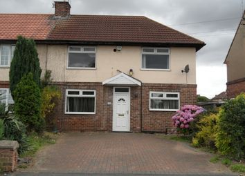 Thumbnail 4 bedroom semi-detached house to rent in Second Avenue, Woodlands, Doncaster