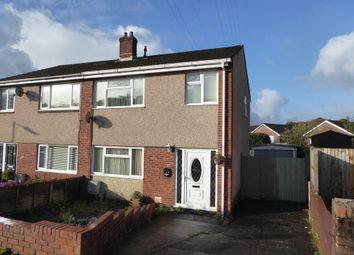 Thumbnail 3 bed semi-detached house for sale in Heol Glannant, Ynysforgan, Swansea