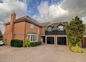 Thumbnail 5 bed detached house for sale in Gorefeld, Takeley, Bishop's Stortford