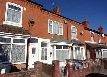 Thumbnail 3 bed terraced house for sale in Greswolde Road, Sparkhill, Birmingham, West Midlands