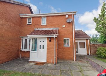 Thumbnail 2 bed semi-detached house for sale in Reedham Court, Westerhope, Newcastle Upon Tyne