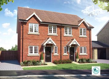 Thumbnail 2 bedroom semi-detached house for sale in The Dartfield, Hartree Green, Caldecote, Cambridgeshire