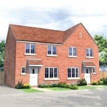 Thumbnail 3 bed semi-detached house for sale in Moor Lane, Branston