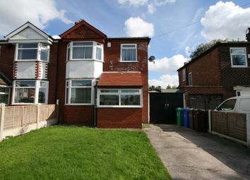 Thumbnail 3 bed semi-detached house to rent in Ringwood Avenue, Manchester, Greater Manchester