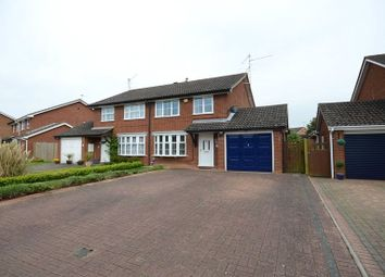 Thumbnail 3 bed semi-detached house for sale in Hawker Way, Woodley, Reading