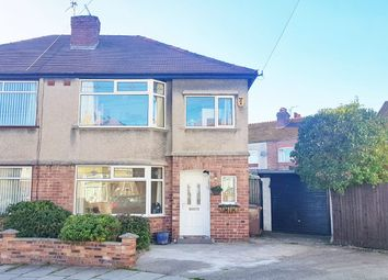 Thumbnail 3 bed semi-detached house for sale in Rydal Bank, Bebington, Wirral
