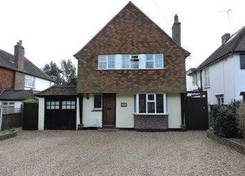 Thumbnail 3 bed detached house to rent in High Road, Byfleet, West Byfleet