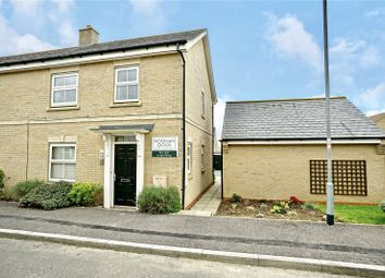 Thumbnail 2 bedroom end terrace house for sale in Lannesbury Crescent, St. Neots, Cambridgeshire