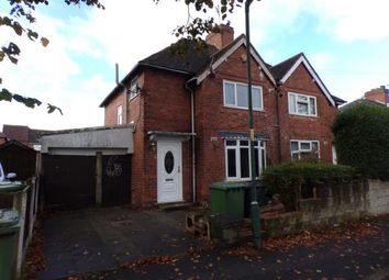Thumbnail 3 bedroom semi-detached house for sale in Chapel Street, Walsall, West Midlands