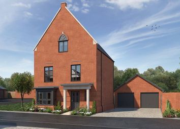"Thumbnail 4 bedroom detached house for sale in ""The Hamilton"" at Fire Station Road, Aldershot"
