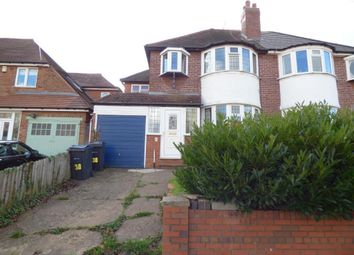 Thumbnail 4 bed semi-detached house to rent in Harts Green Road, Harborne, Birmingham