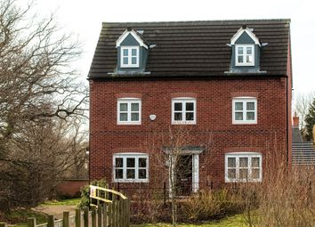 Thumbnail 5 bed detached house to rent in Wood Drive, Kegworth, Derby
