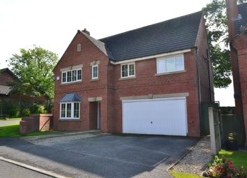 Thumbnail 5 bed detached house for sale in Hemp Mill Walk, Loggerheads, Market Drayton