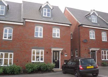 Thumbnail 3 bed semi-detached house to rent in Strutts Close, South Normanton, Alfreton
