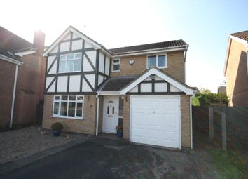 Thumbnail 4 bed detached house for sale in Pembrey Close, Trowell, Nottingham