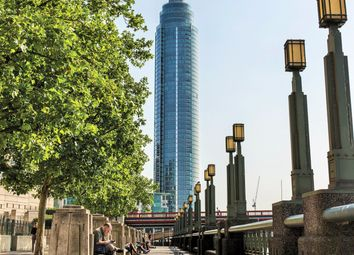 1 St George Wharf, Vauxhall, London SW8. 3 bed flat
