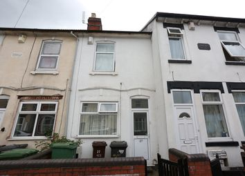 Thumbnail 3 bed terraced house for sale in Paget Street, Wolverhampton