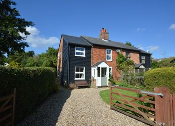 Thumbnail 3 bedroom semi-detached house for sale in Burton Green, Withersfield, Haverhill