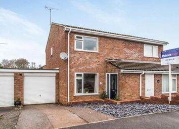 Thumbnail 3 bed semi-detached house for sale in Gill Crescent, Taunton